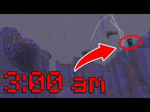 DO NOT PLAY MINECRAFT XBOX AT 3AM!