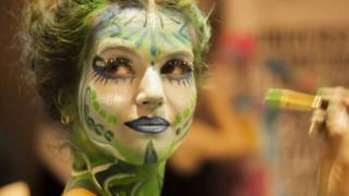 body painting in paris France