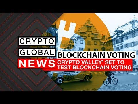 Crypto Valley Set To Test Blockchain Voting