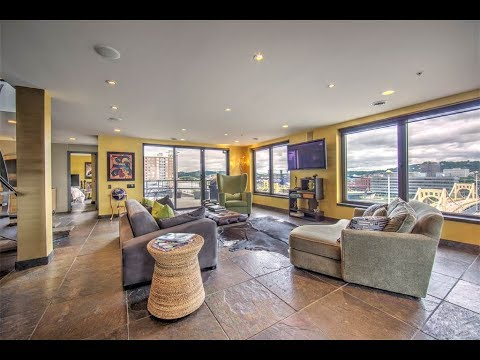 Stylish Downtown Penthouse in East Pittsburgh, Pennsylvania | Sotheby's International Realty