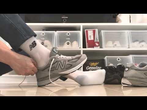 new balance 990v4 gray mini review