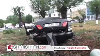Խոշոր ավտովթար Իսակովի պողոտայում  բախվել են Mercedes ն ու BMW ն
