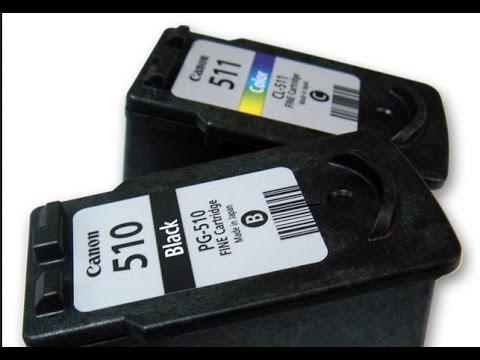 Заправляем картриджи струйного принтера.  Canon MP 250 и его модификации. PG510 PG512 и CL511 CL513