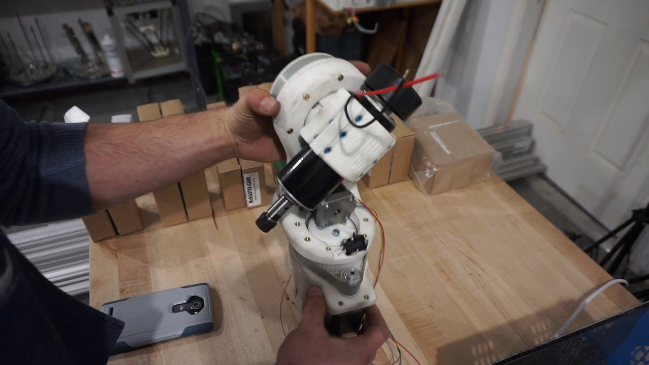 Home Made 5-Axis CNC Head Is A Project To Watch | Hackaday