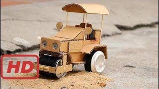 Cómo Hacer Rodillo De Calle Con Motor En Casa Para Niños