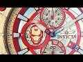 Invicta 26796 Quartz Stainless Steel and Red Silicone Watch
