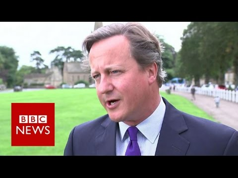 David Cameron to stand down as an MP - BBC News