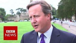David Cameron to stand down as an MP - BBC News