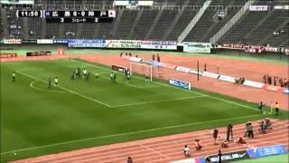2012年J1リーグ前半戦 サンフレッチェ広島 ハイライト