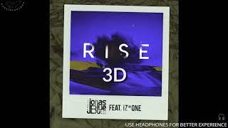 Jonas Blue feat. IZ*ONE - Rise [3D AUDIO USE HEADPHONES] | godkimtaeyeon
