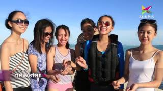 Pulau Derawan Bersama Putri Pariwisata Indonesia