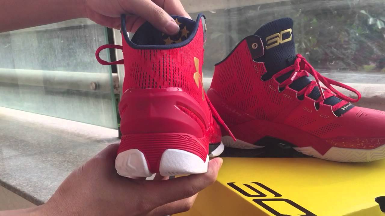 59cd918ba3 Under Armour Curry Two Floor General shoes store - YouTube