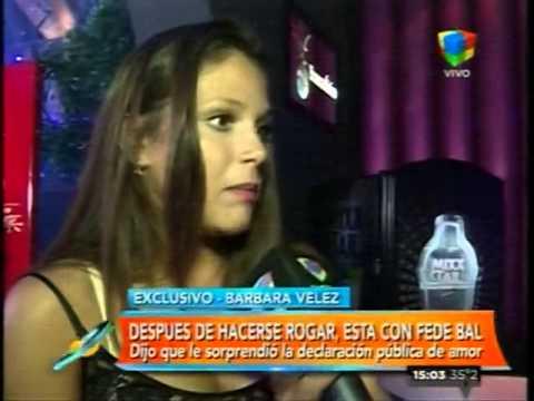 Barbie Vélez: Me sorprendió lo que dijo Fede en público