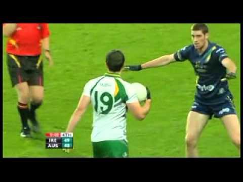 Australia V Ireland 2nd Test Highlights (2nd Half) 2010