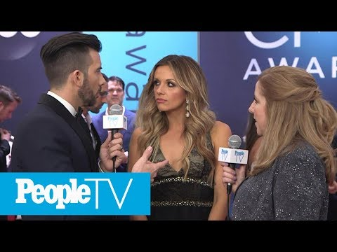 download Carly Pearce On Her First Time Walking The Red Carpet With Anyone Else | CMAs 2018 | PeopleTV
