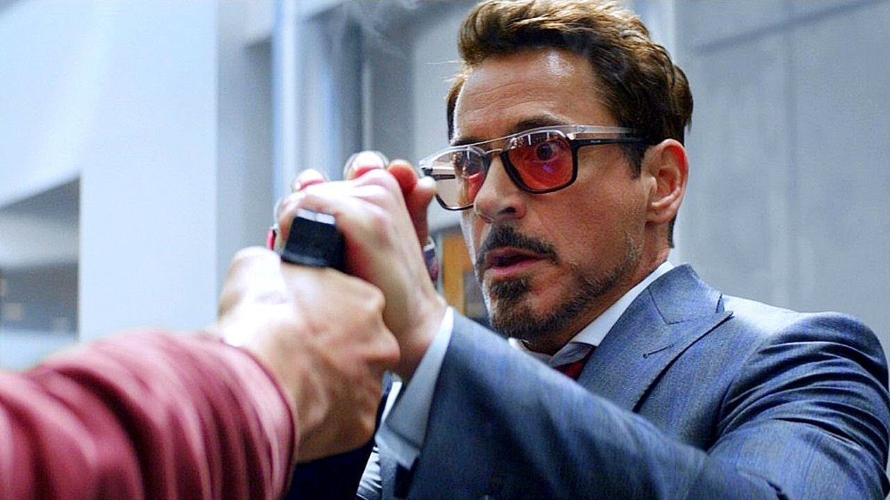 Download Tony Stark & Black Panther vs Bucky - Fight Scene - Captain America: Civil War (2016) Movie CLIP HD