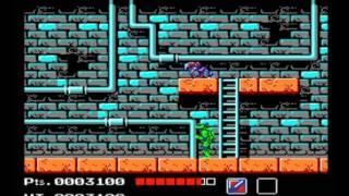Teenage Mutant Ninja Turtles (RockNESX Emulator Test)