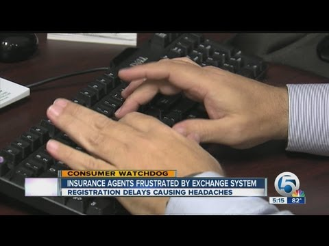 Insurance agents frustrated by exchange system