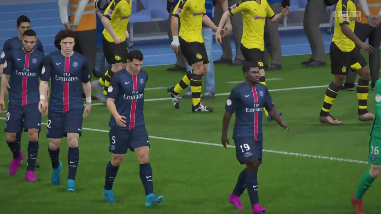 Borussia Dortmund Vs Psg Fifa 16 Career Mode Champions