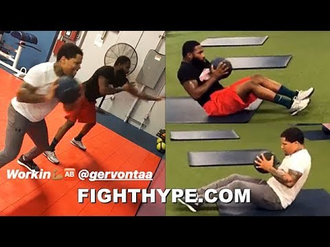 ADRIEN BRONER BEGINS PACQUIAO CAMP WITH GERVONTA DAVIS; TAKING STRENGTH TRAINING TO NEXT LEVEL