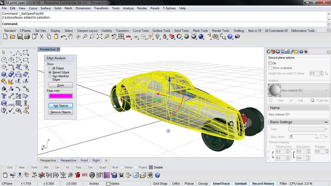 Tutorial: 3D Printing with Rhino | 3D Printing Blog | i