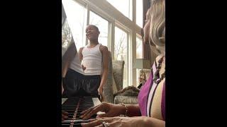 Karen Clark Sheard & Grandson Jacob Sing His Eye Is on the Sparrow | 2021