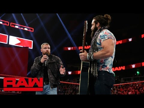 Dean Ambrose has a song request for Elias: Raw, Feb. 25, 2019