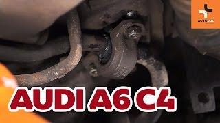 Så byter du krängningshämmarbussning fram på Audi A6 | Guide HD