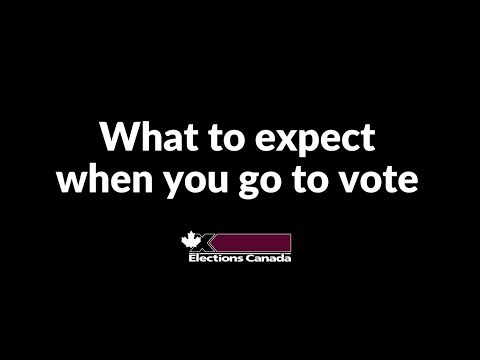 What To Expect When You Go Vote | Elections Canada