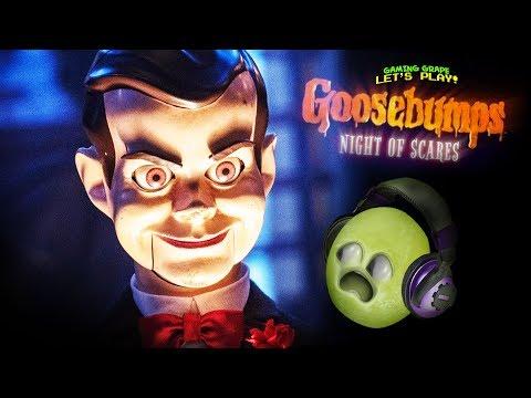 Goosebumps!! NIGHT of the LIVING DUMMY!!!! #Shocktober |