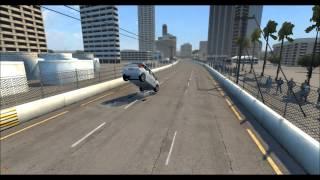 (BNG Drive)Car Crash Test [Citroen C4 Picasso] {Surfers Paradise}