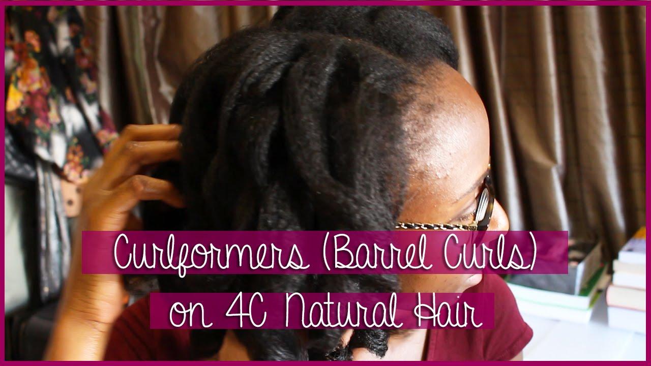Barrel Curlformers Natural Hair