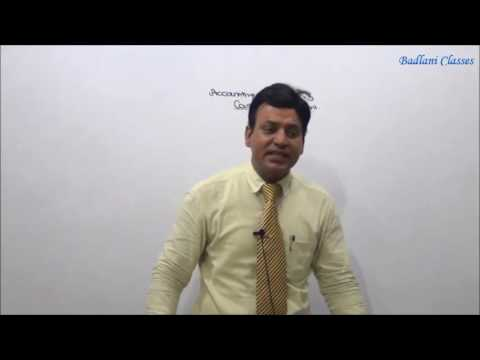 Accounts : AS 3 : Professional Series : Accounting Standards : Lecture 3 : Cash Flow Statement