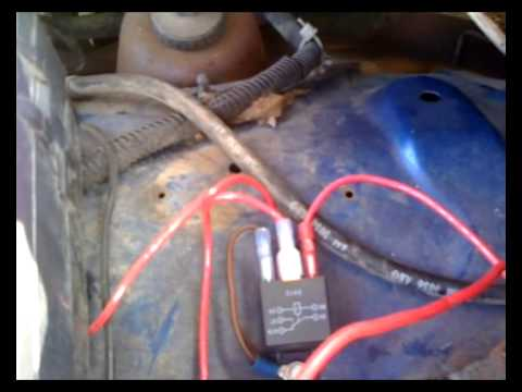 1994 Dodge Ram 2500 External Voltage Regulator Modification - YouTube