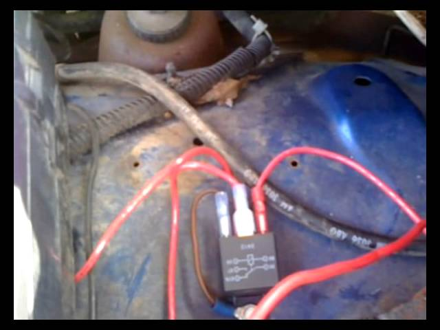 1994 Dodge Ram 2500 External Voltage Regulator Modification Youtube