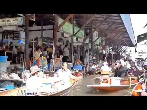 BangKok Floating market drijvende markt