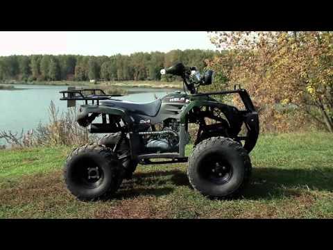Обзор квадроциклов WELS ATV300 и ATV150-Thunder