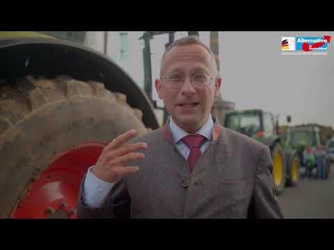 Deutschlandweite Proteste der Landwirte! - Die AfD-Fraktion war dabei
