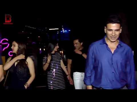 Akshay Kumar Embraced Bobby Deol's Friend, Then Twinkle Khanna Pulled Akshay's Hand At YAUATCHA