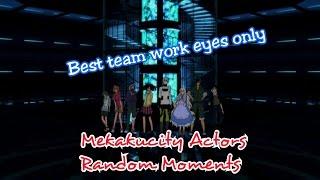 Best team work i've ever seen | Random Moments | Mekakucity Actors