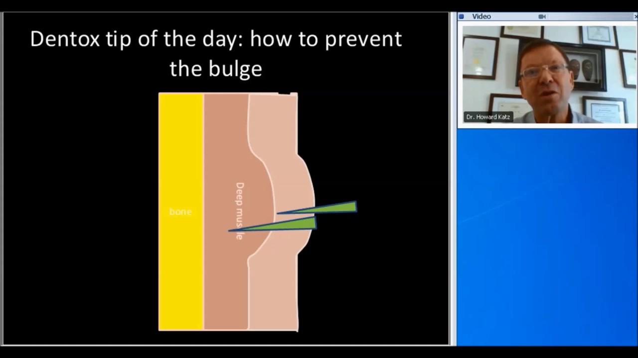 Botox Training | Prevent Bulge Side Effect | (858) 905-5780
