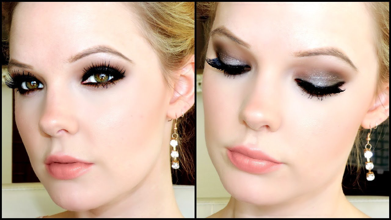 DIY PROM: FULL GLAM Makeup Tutorial - YouTube