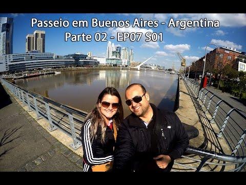 Viajar para Viver - Passeio em Buenos Aires - Argentina Parte 2 - EP07 S01