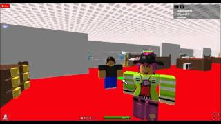 ROBLOX rockerboy2012 and anna691 aboard the lusitania