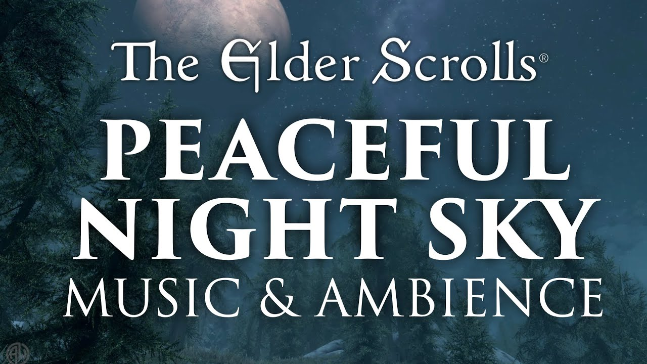 The Elder Scrolls Music & Ambience | 8 Hours, 4 Peaceful Scenes with Serene Music Mix