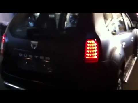 Dacia Duster Neu >> Dacia Duster LED Rückleuchten exklusiv by Elia Tuning - YouTube
