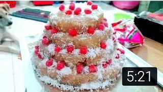 Làm bánh sinh nhật từ trái chuối ngon mà đẹp - Hoàng Vlogs