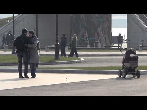 Владивосток набережная Цесаревича (4 ноября 2012).