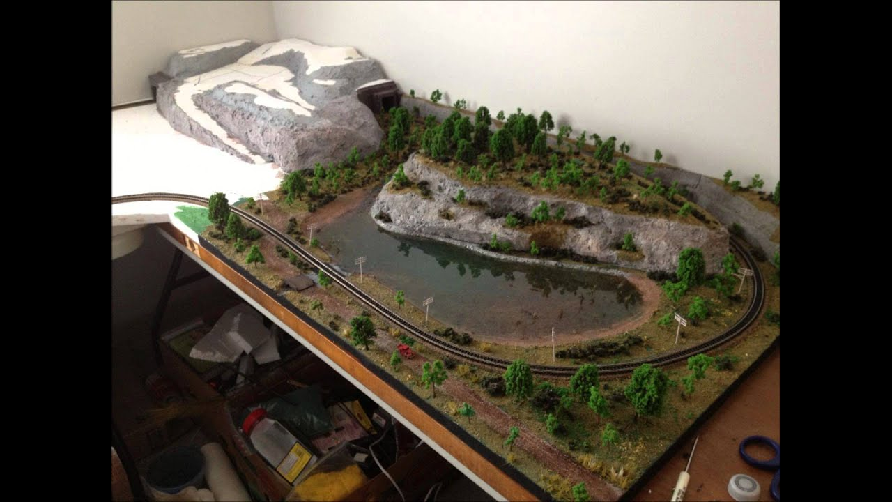 One Year Of N Scale Model Railroading Youtube