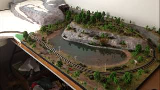 One year of N scale model railroading!